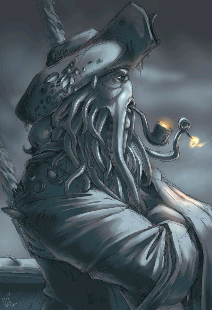 138 best Davy Jones images on Pinterest | Davy jones, Pirates of ...