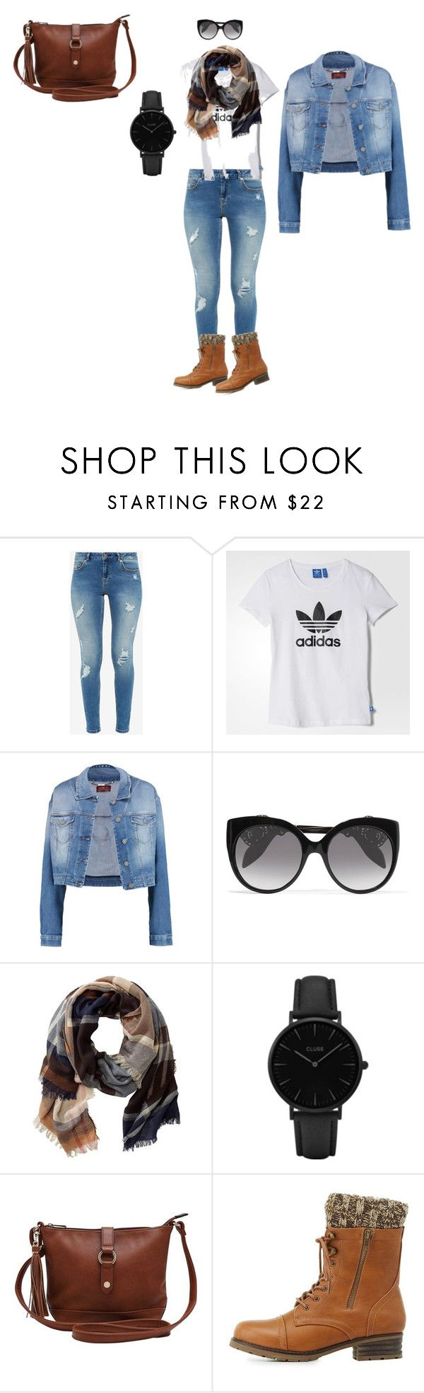 """Women Perfect Set"" by tada-selo123 ❤ liked on Polyvore featuring Ted Baker, adidas, 7 For All Mankind, Alexander McQueen, TravelSmith, CLUSE, M&Co and Charlotte Russe"