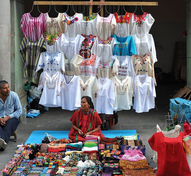 Triqui Woman Oaxaca Mexico