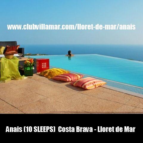Anais (10 SLEEPS)  Costa Brava - Lloret de Mar