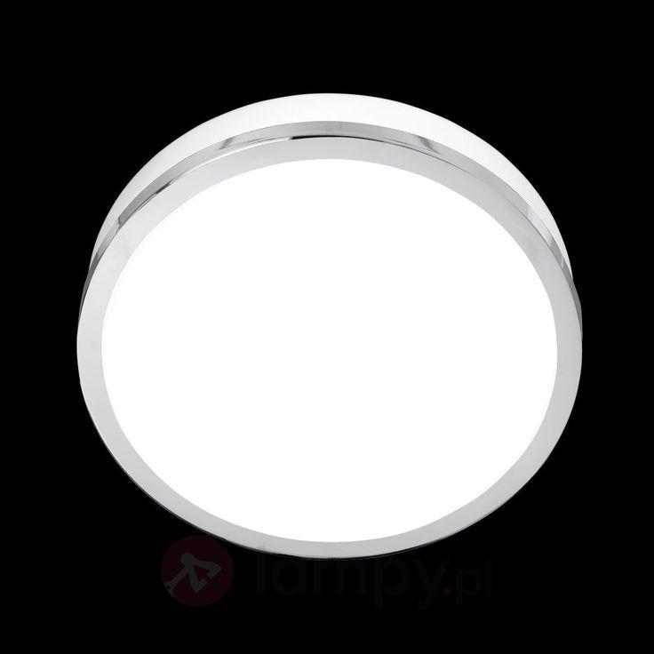 Prosta lampa sufitowa Flush chrom IP44 23 cm bezpieczne & wygodne zakupy w sklepie internetowym Lampy.pl.