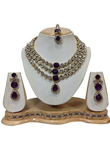 VVS Jewellers Purple Stone Bollywood Style Gold Plated Pa... http://www.amazon.in/dp/B06WGN3ZGD/ref=cm_sw_r_pi_dp_x_MsTNyb1Q45XV5