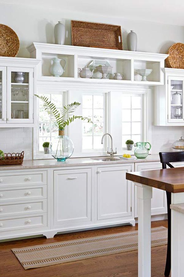 How Do You Style Kitchen Cabinet Space?