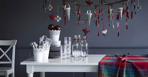 Een creatieve kersttafel
