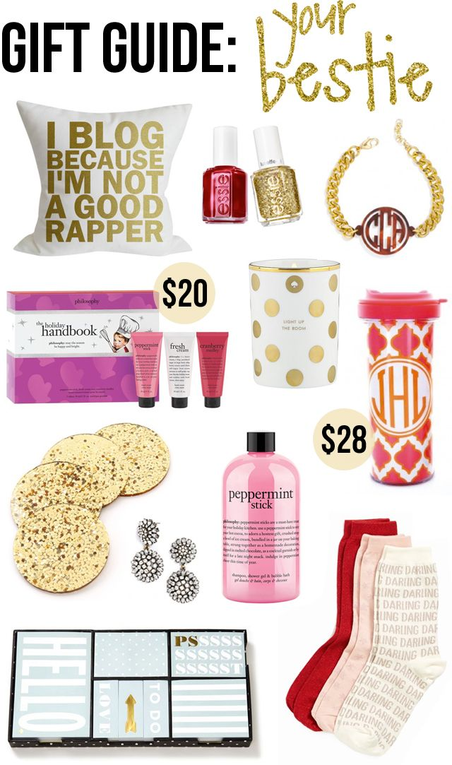 Gift Guide for your Best Friend (Everything is under $50!)