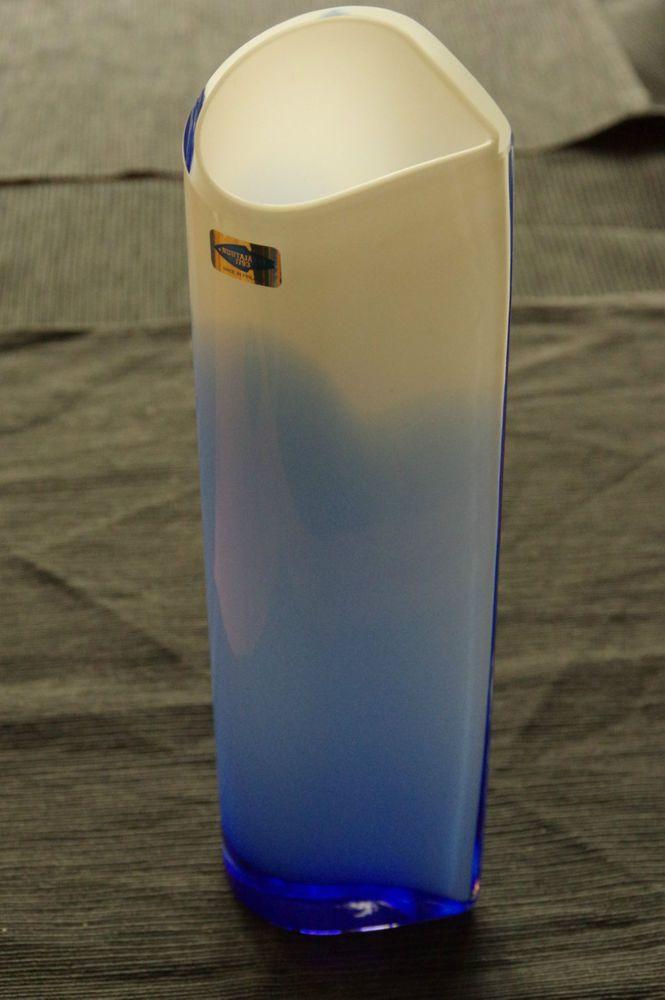 Glass vase - Inkeri Toikka - Ella - signed
