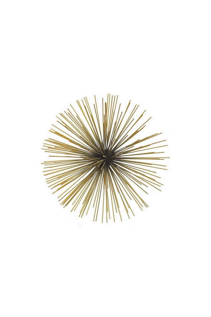 Sunburst Wall Decor is a fun and expecting way to add dimension to your walls.  Dimensions:W: 8 x H: 15.5 x D: 15.5  Sunburst Wall Decor by three hands. Home & Gifts - Home Decor - Wall Art Georgia