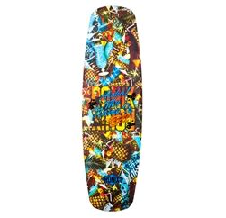 the board smells like pineapples... for real... RONIX BILL ATR WAKEBOARD BLUE HAWAIIAN (2014)