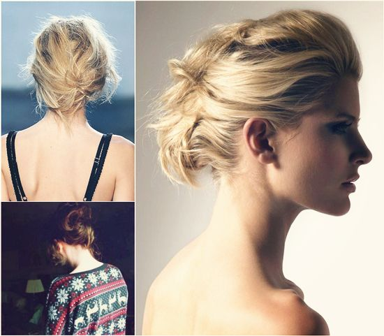 30 best makeover kristin images on pinterest braids for short elegant messy updo for party by clip on silky and real extension for thin hair pmusecretfo Gallery
