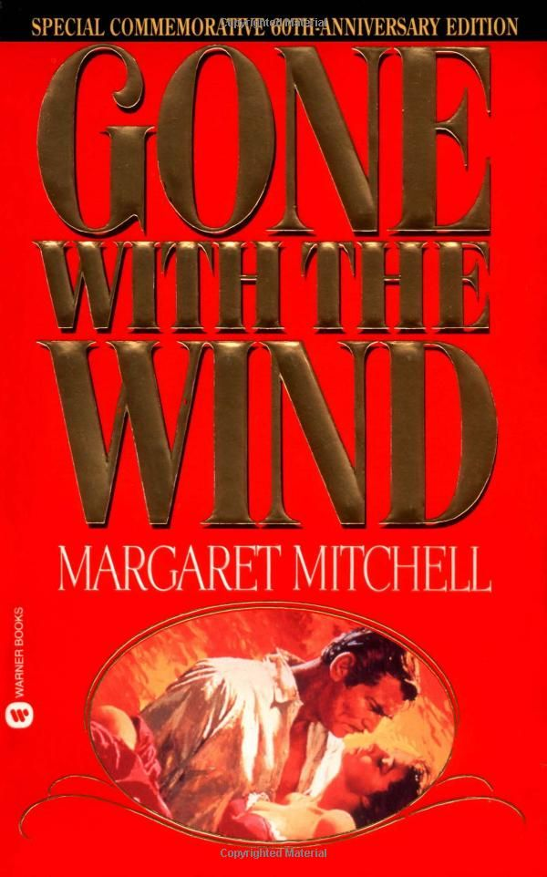 Gone With the Wind - Margaret Mitchell (1024 pages)