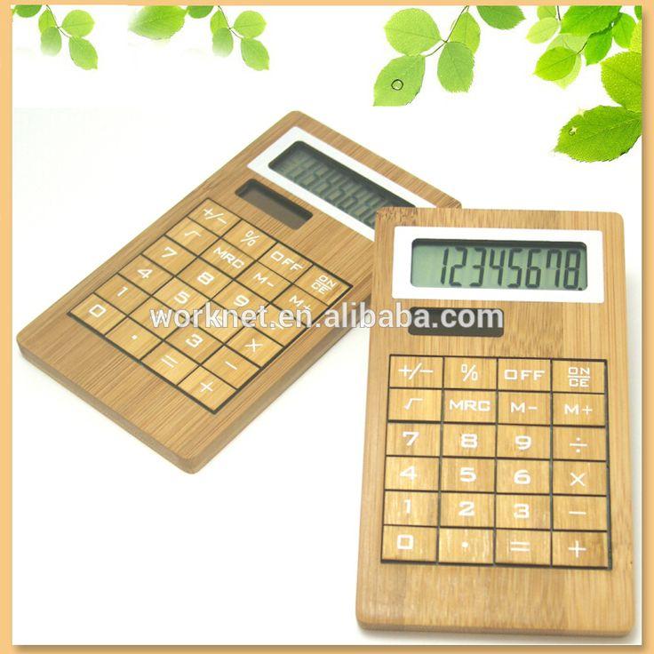 China de fábrica premium regalo hechos a mano craft 8 dígitos calculadora solar de 24 teclas, de bambú de madera de 8 dígitos-Calculadoras -Identificación del producto:60364353483-spanish.alibaba.com