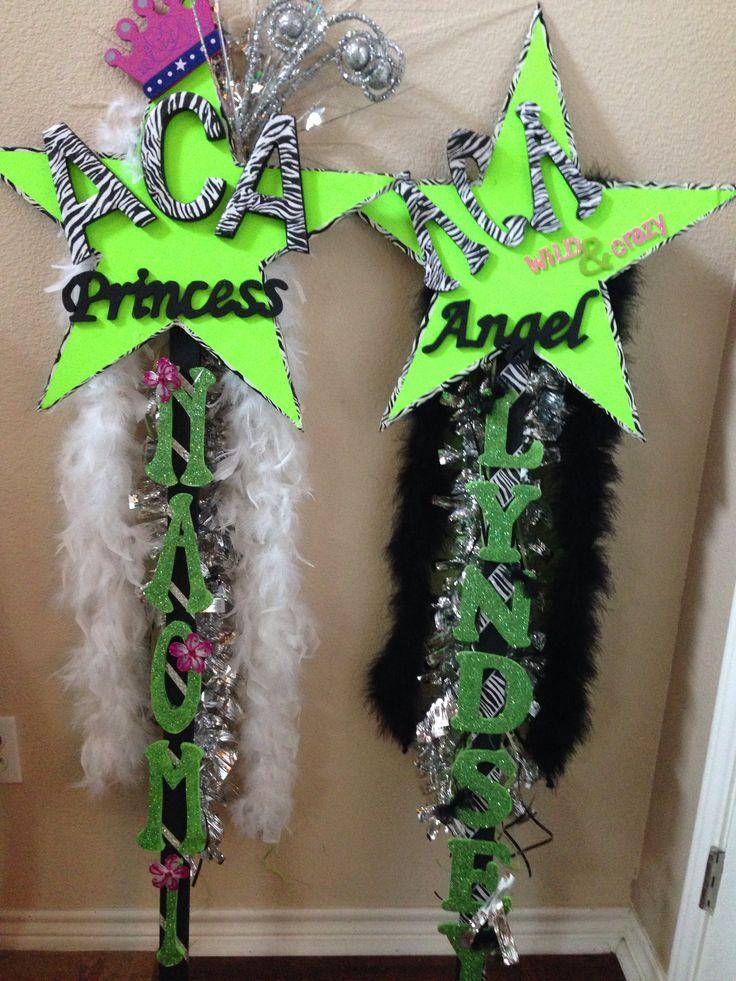 Cheer Spirit Sticks!!!  Competitive Cheer Allstars.