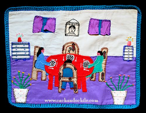 Chilean Arpilleras: A chapter of history written on cloth | Cachando Chile: Reflections on Chilean Culture