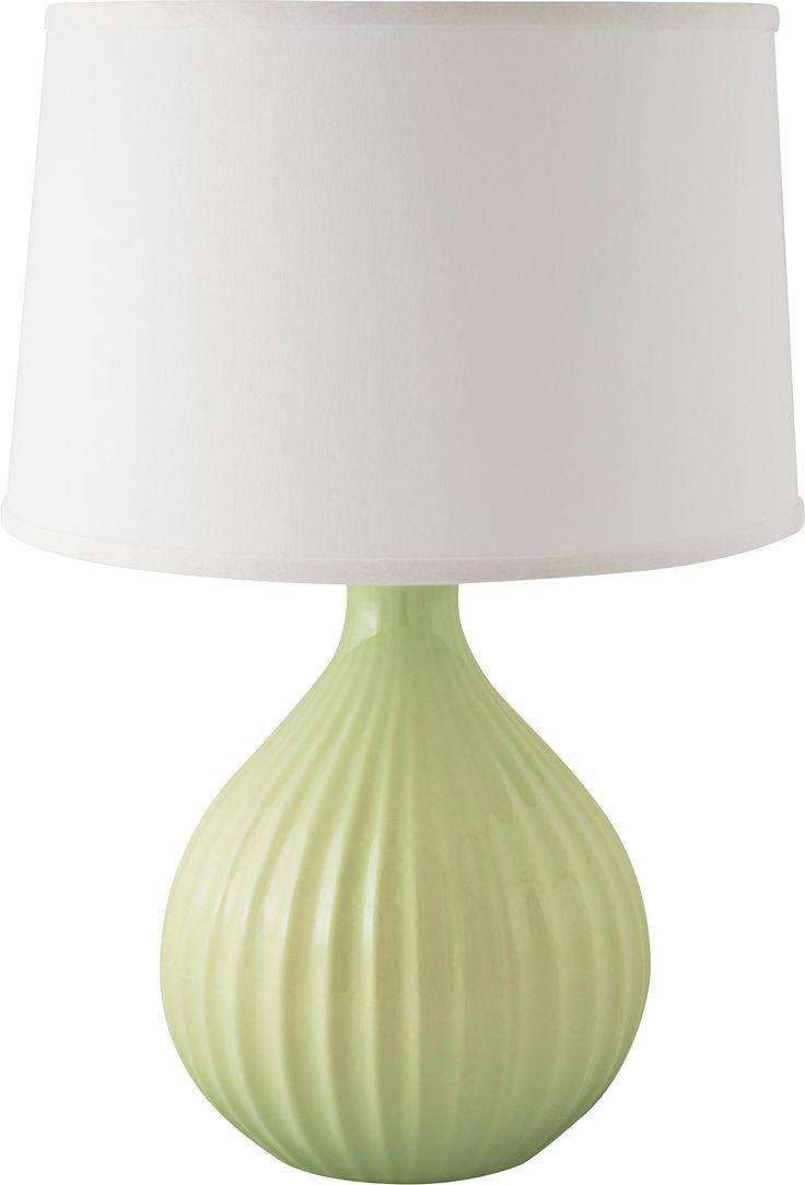 Light green table lamp - Riverceramic Sprout Gloss Crisp Green Table Lamp