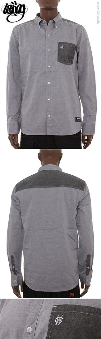 Wrung Division Langærmet skjorte