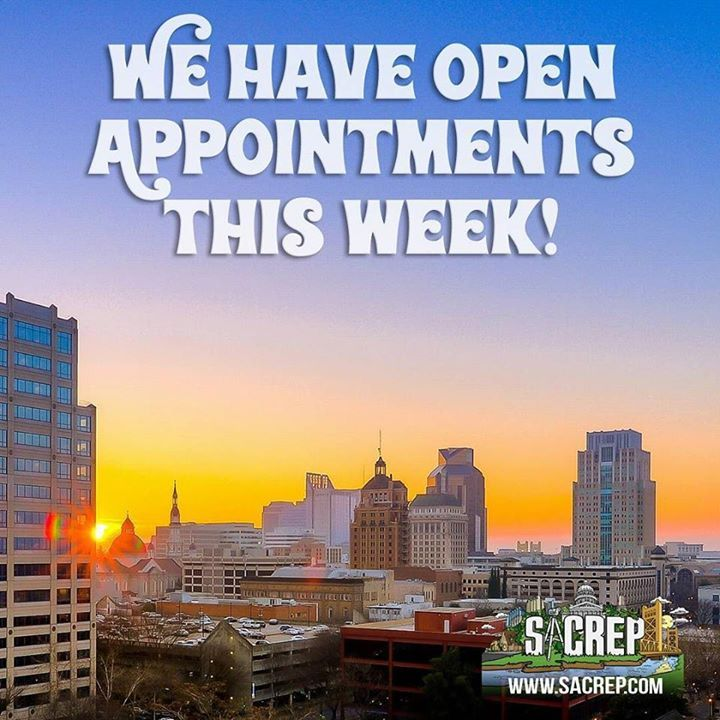 We have a few open appointments this week: Friday at 9am and Friday at 1pm...Call (916) 258-5036 or email admin@sacrep.com to claim your spot before it's too late!  . . . #realestatephotography #sacramentorealestate #sacrep #realestate #realtor #sacramentorealtor #realestateagent #visitsacramento #liveinsacramento #mysacramento #sacitecture #igerssac #thepeopleofsacramento #exploresac #exploreca #sacafterdark #scoutsac #sacramentoproud #downtownsac #eastsac #djicreator #djiphantom3…