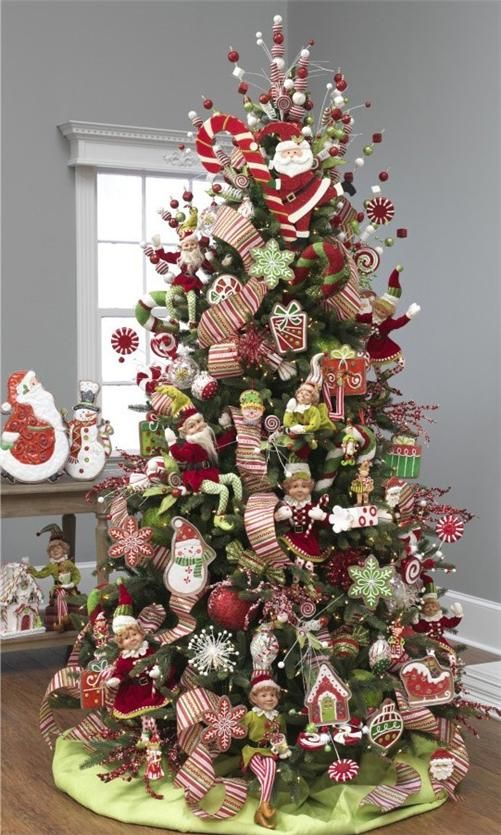 Elf tree. This years decor