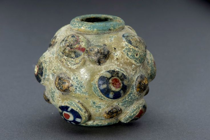 Ancient Islamic glass bead
