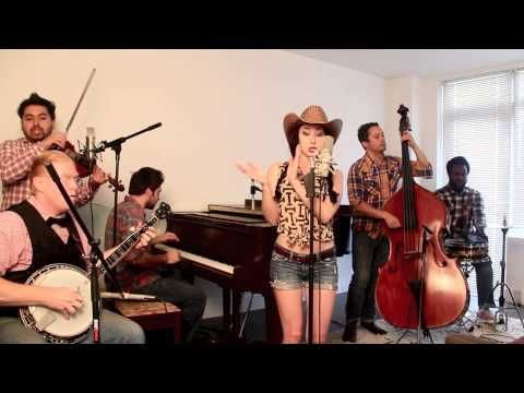 """Blurred Lines - Vintage """"Bluegrass Barn Dance"""" Robin Thicke Cover. LOVE! Yes, that IS David Wong on fiddle! No, I'm NOT sick of this song (probably helps I don't listen to the radio)!"""