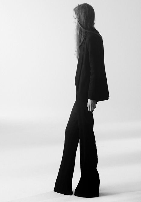 Theyskens Theory Spring Summer 2011 Photograph by Olivier Theyskens 2010.