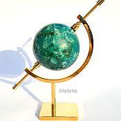 Фен-шуй и эзотерика ручной работы. Ярмарка Мастеров - ручная работа Шар хризоколлы (сфера хризоколлы). Handmade.
