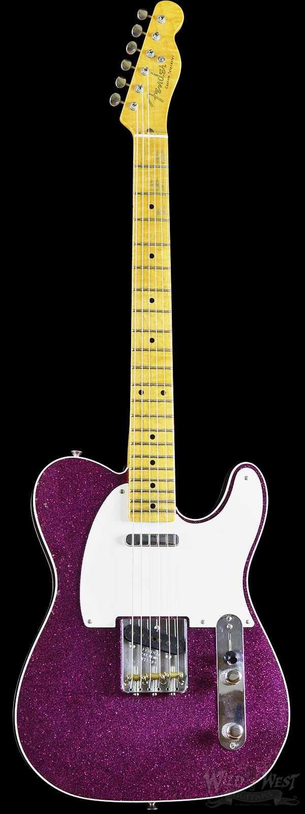 Fender 2016 Limited Edition 50's Telecaster Custom Journeyman Magenta Sparkle