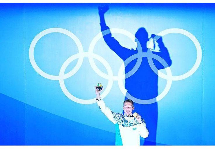 Dmitiry Balandin of Kazakhstan wins GOLD men's 200M breaststroke