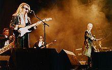 Eurythmics Annie Lennox et  Dave Stewart