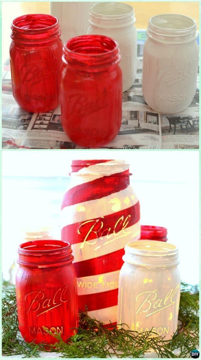 Diy Christmas Mason Jar Lighting Craft Ideas Picture In 2020 Christmas Mason Jars Diy Christmas Mason Jars Christmas Jars