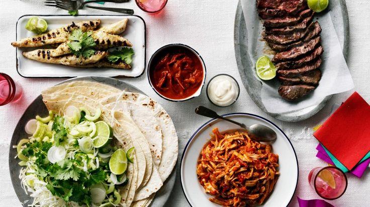 Mexican recipes: Tacos, burritos, fajitas, nachos and more