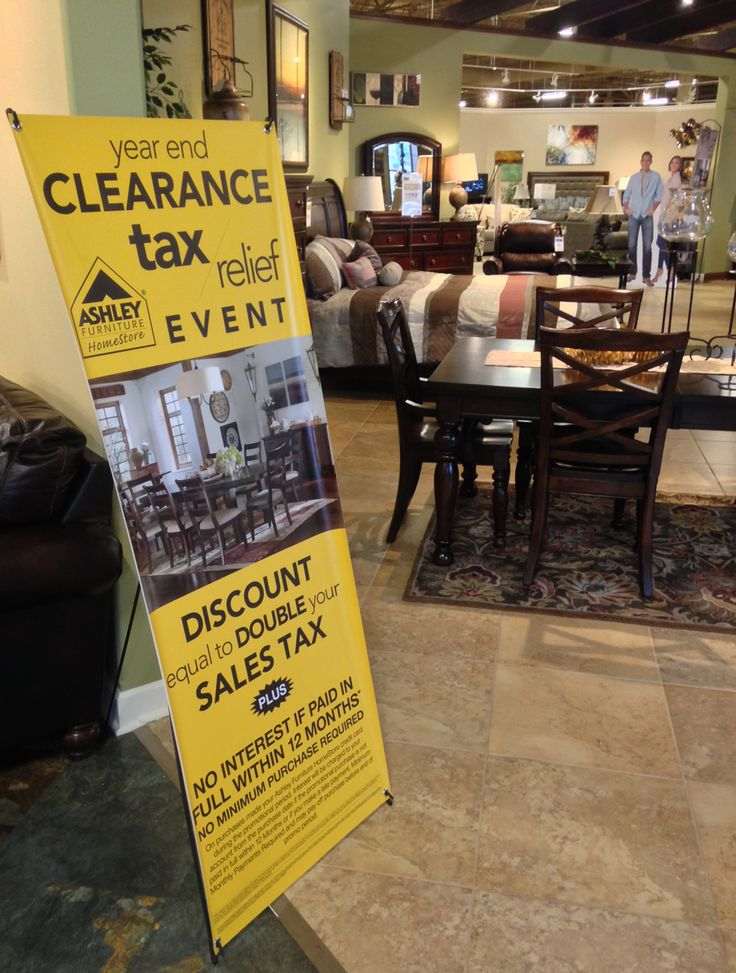 Year End Clearance Event Happening At #AshleyFurniture In Richland, WA. Now  Through December