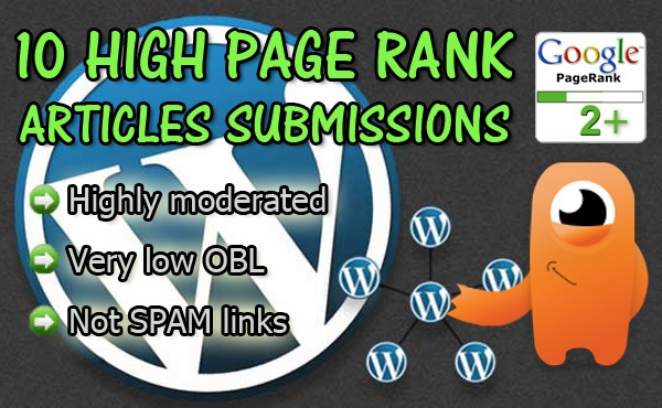 instantrankings: submit your article to my network of 10 sites PR 2+ to help boost your seo rankings for $5, on fiverr.com
