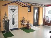 Ausstellung: Aluminium Haustüren, Kunststoff Haustüren, Aluminium Vordächer u.v.m., vom Fenster- Rollladen- und Sonnenschutz- Experten Mester aus Bielefeld, für OWL und Umgebung.