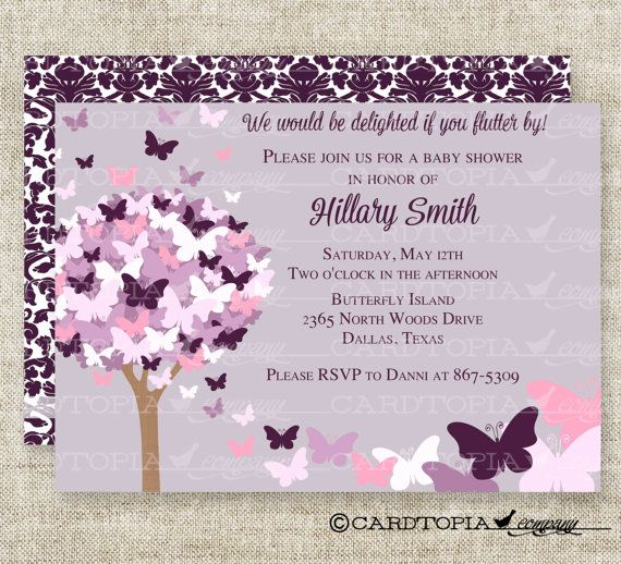 Butterfly Baby Shower Invites: 25+ Best Ideas About Butterfly Baby Shower On Pinterest