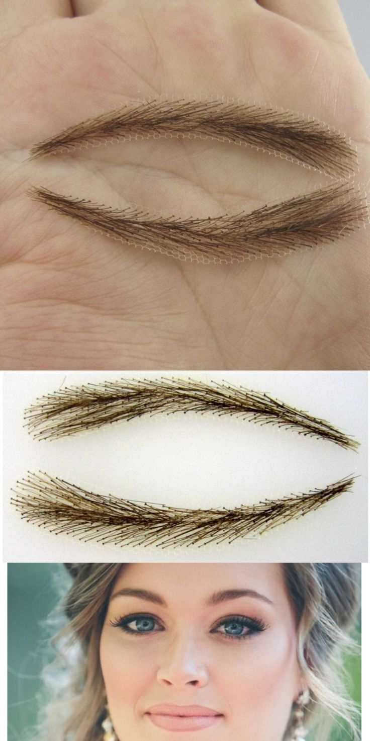 2017 Easy To Wear Time-limited Sobrancelha Dye False Eyebrows Free Shipping Makeup Eyebrow Long-lasting Arrival Real Limited
