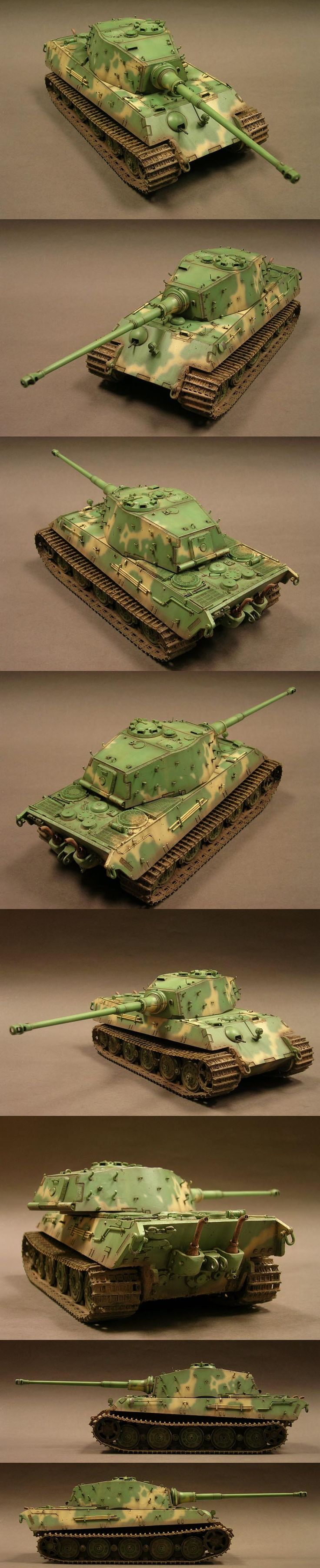 King Tiger 1/35 Scale Model