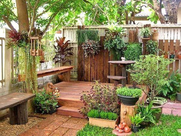 Ideas de vacaciones para el patio, cómo decorar el patio