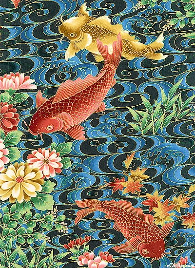 Koi Garden - Water World - at eQuilter.com