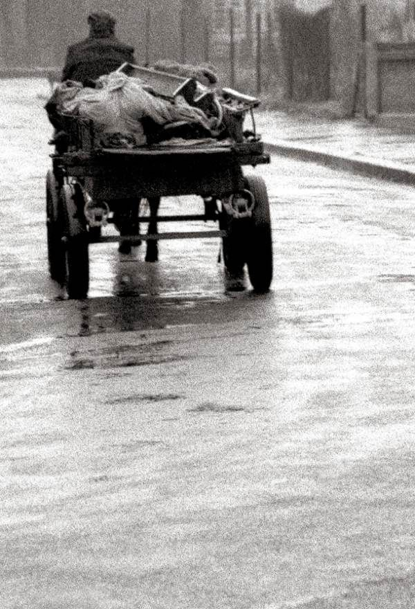 "Rag Bone Man, E13 (1961) - ""Down my street in Plaistow, there were not many cars about – all you could hear was the clip-clop of the horse on the wet road."""