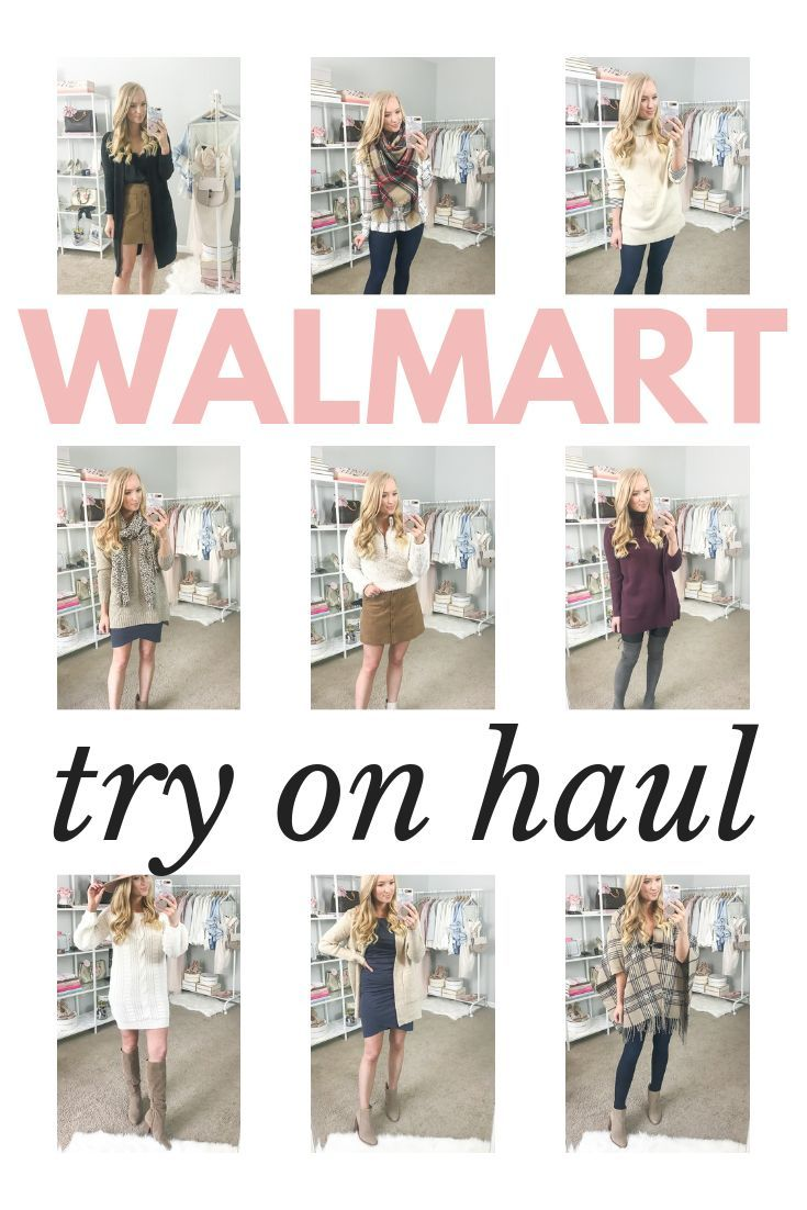 5ffe8ca64f6 Fall outfits 2018 from Walmart  Trying on and styling 11 looks in this Walmart  try on haul. Don t miss this affordable fashion haul for your Fall wardrobe  ...