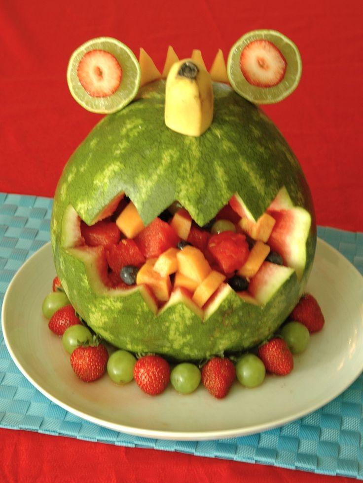 interesting ideas fruit bowl. 34  the monster bash part one look 15 best Watermelon Art Serving Ideas images on Pinterest