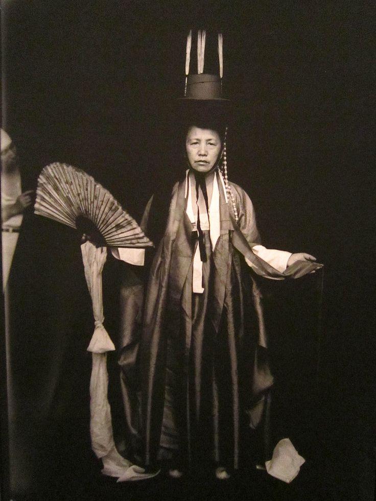 "Korean Shaman Woman (1930s) Korean shamans ""mudangs"" are almost exclusively women."