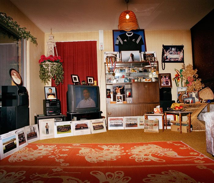 Edith Amituanai, House of Tiatia, 2007, from the series Déjeuner, C-type photograph