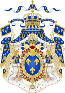 House of Bourbon  CountryFrance, Italy, Navarre, Spain, Luxembourg  ofCapetian dynasty    King of France and Navarre  King of Spain  King of the Two Sicilies  Grand Duke of Luxembourg  Dauphin of France  Duke of Bourbon  Duke of Calabria  Duke of Vendôme  Duke of Orléans  Duke of Anjou  Duke of Berry  Duke of Alençon  Duke of Angoulême  Duke of Parma  Duke of Lucca  Prince of Condé  Prince of Conti  Count of La Marche  Count of Soissons  Count of Provence  Count of Artois