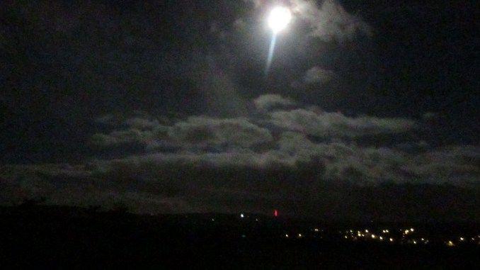 Dawn over Tavistock in January.