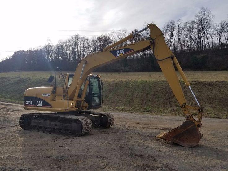 2006 Caterpillar 312CL Hydraulic Excavator Track Hoe Diesel Tractor Machine Cat