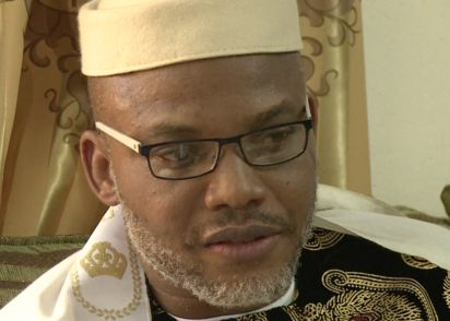 The General Overseer of Mount Zion Faith Global Liberation Ministries Inc aka By Fire By Fire Nnewi Anambra State Bishop Abraham Chris Udeh has thrown his weight behind the call by IPOB leader Nnamdi Kanu for a referendum or there would be no election in Anambra state.  Bishop Udeh who spoke to newsmen yesterday at his Church auditorium said Kanus call for the boycott of the election unless a referendum is conducted was in order and should be obeyed.  He said the individuals who blamed Kanu…