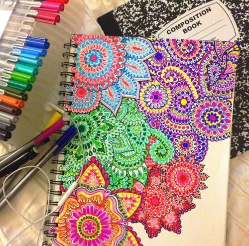 Cool Notebook Cover Designs ~ Awesome diy notebook cover cool ideas pinterest