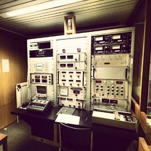 70's control console, Cyclotron, #UCL, Louvain-la-Neuve, #LLN, Journées du patrimoine 2012