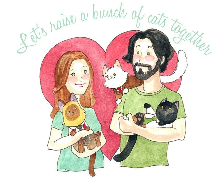 Add these cat wedding details to your list right meow